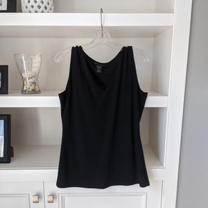4/$30 INC tank top black size Large